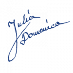 Unterschrift blau - Home Zitat